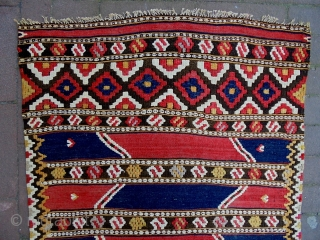 Monastir Kelim Size: 60x105cm Made in circa 1910/20