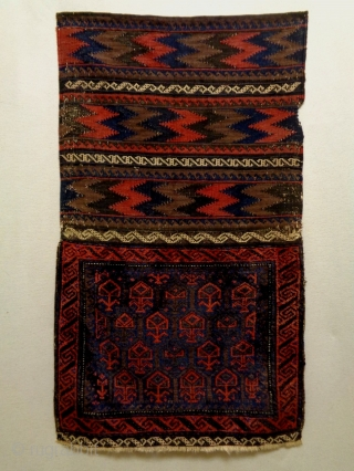 Baluch Bag Complete Size: 64x106cm Natural colors, made in period 1910/20