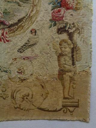 18th Century Very Fine top kivaliteit Tapiseri Size: 62x80cm