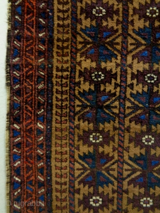 Baluch Size: 92x146cm Natural colors, made in period 1910