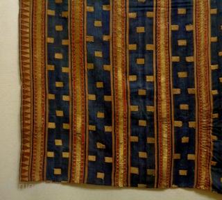 19th Century Fine Indonesian Textile Size: 118x118cm