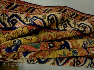 19th Century Shagur Size: 75x156cm Natural colors, there are a little bit missing at the borders.