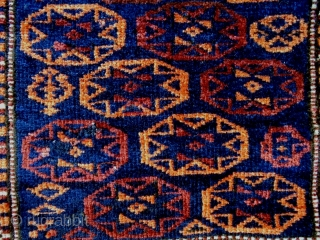 Very Fine Interesting Design Baluch Bag Complete Size: 54x108cm Made in period 1910/20