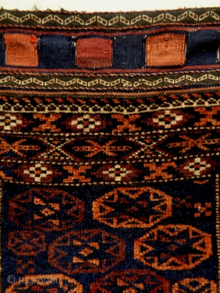 Very Fine Interesting Design Baluch Bag Complete