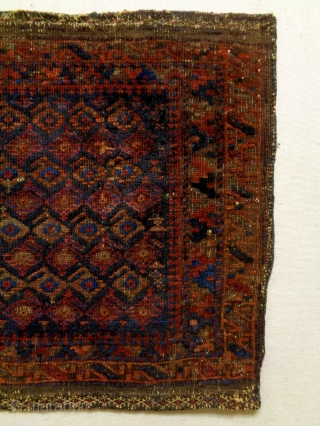 19th Century Baluch Boteh Bagface