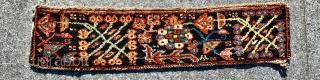 Bakhtiyai Wagireh 1900 circa all good colors•••size80x18cm