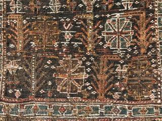 Bakhtiyari sumak bag fragment,size 80x50cm