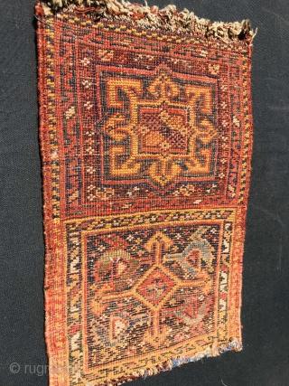 2 face Persian Khamseh Chanteh 1880 circa-size>25x33cm