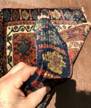 Kurdish Jaf with beautiful natural colors and very good condition. High wool. Size~45x62cm