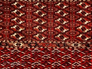 Turkmen Tekke Chuval 1870 circa,size130x71cm