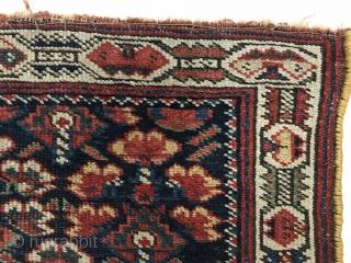 Kurdish bagface,circa 1880 wool on wool,size 86x70cm