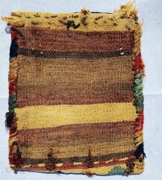 Small Shahsevan bag 1880 circa•••size20x17cm