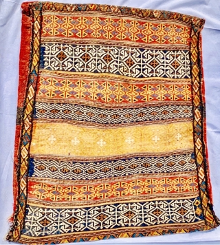 large Afshar Wheat and flour transport bag: size86x66cm