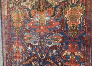 Chahat mahal Bakhtiyari rug,size 190x145cm perfect condition