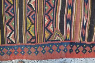 Bakhtiari kilim,Size:255x165 cm