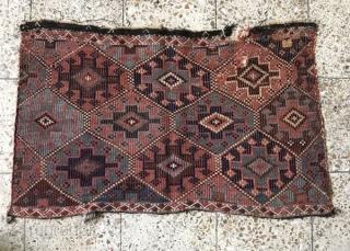 Shahsavan mafrash panel,Size:97x51 cm