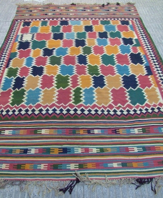 Qashqai kilim from SheshBoluki's khan I have bought it.Size:300x195 cm in perfect condition.