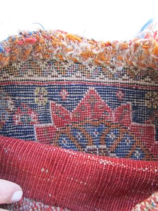 qashqai bag.needs a good wash.Size:27x29 cm