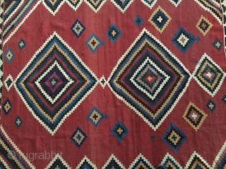 SW Persia kilim,Size:220x160 cm