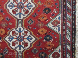 SW persia,Khamseh rug in perfect condition,Size:215 x 100 cm