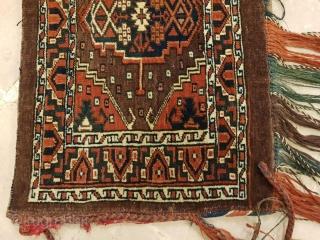Pair of Turkmen torbas.Sizes,102x40 cm &105x40 cm