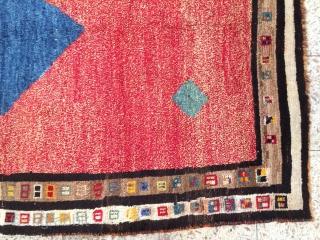 Lori woolen gabbeh,Size:190 x 130 cm