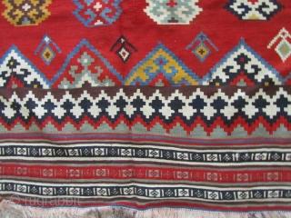 Qashqai kilim in fine condition,Size:325x157 cm