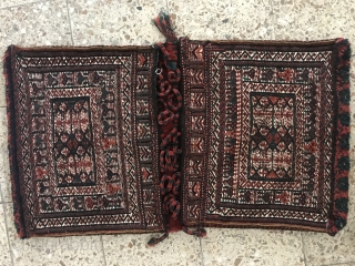 Bakhtiari khorjin in fine condition,Size:101x57 cm