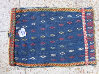 ghashqaie bag or spoon bag,Size:45x33 cm,small tiny hole in back is showed on images.