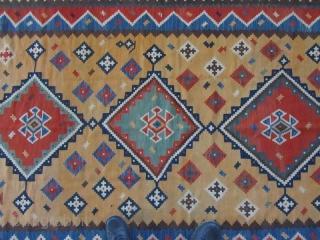 ghashqaee kilim,Size:300x146 cm