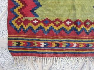 Sw Persia prayer kilim in fine condition,Size:85 x 72 cm