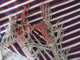 Shahsavan Jajim saddle cover,Size:93x110 cm,not washed