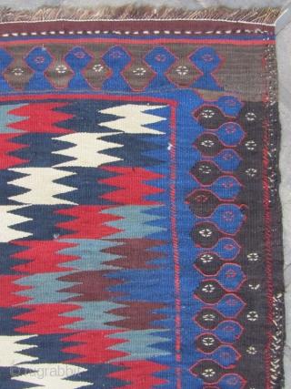 Varamin kilim,Size:315 x 165 cm