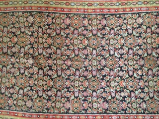 NW Persia,Seneh kordestan kilim,in fine condition,Size:194x125 cm