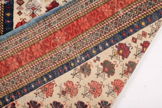 19th Century Kuba Shirvan Rug size 100x136 cm