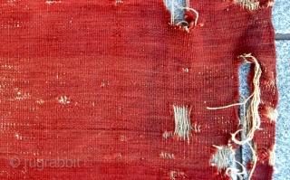 18th Century Sivas Kilim size 115x290 cm