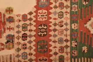 18th Century Anatolian Kilim size 167x295 cm