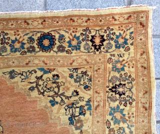 Small Tabriz Rug size 125x177 cm