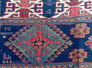 19th Century Very Fine Shahsavan Sumac size 44x58 cm