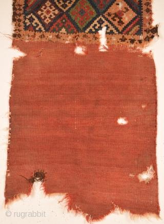 Mid 19th Century Shahsavan Bag Face size 60x123 cm