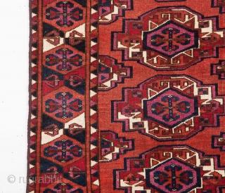 Mid 19th Century Lovely Saryk Cuval size 91x127 cm