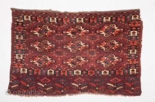 Mid 19th Century Very Fine Yomud Cuval size 78x118 cm