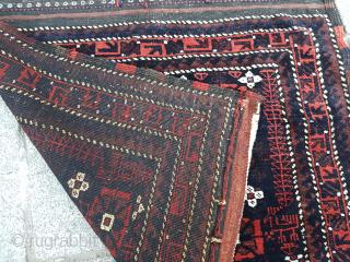 Late 19th Century Khorassan Baluch size 74x78 cm