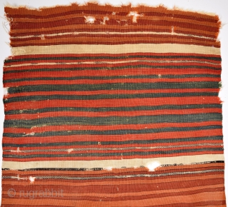 An Early Very Fine West Anatolian Kilim Fragment size 71x88 cm lovely colors