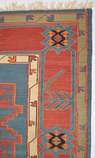 Antique Caucasian Avar Kilim size 148x293 cm