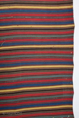 19th Century Shahsevan Jajim size 185x195 cm