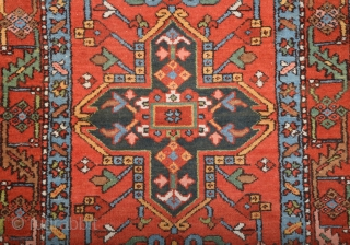 Late 19th Century Persian Karajah Rug size 106x135 cm