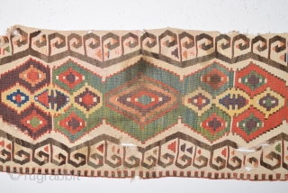 Anatolian Kilim circa 1800 size 64x320 cm