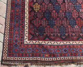 Persian or Kurdish?  Rug circa 1870 size 175x242 cm