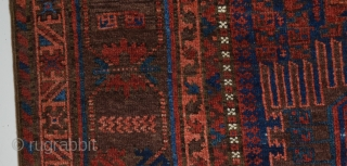 19th Century Timuri Beluch size 196x270 cm contact for pictures